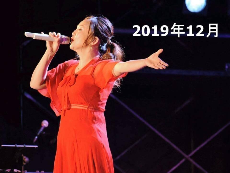 2019年12月の華原朋美