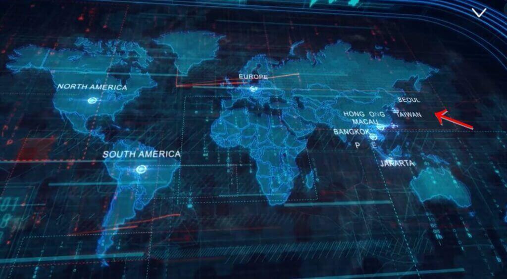GOT7のワールドツアー世界地図に日本がない