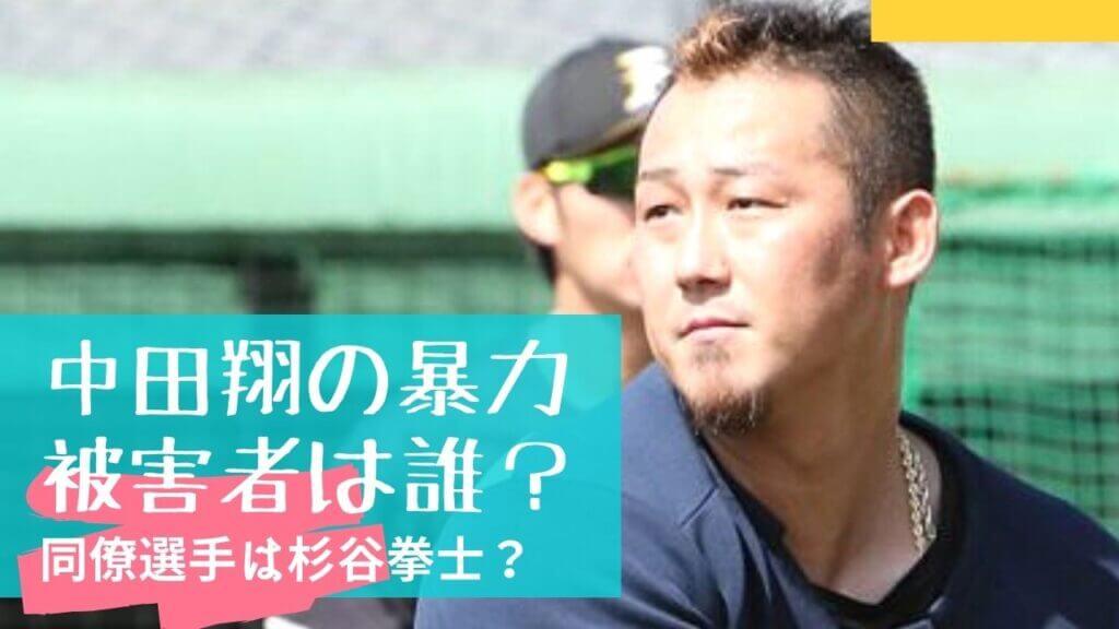 中田翔の暴力の被害者は誰?杉谷拳士と噂される3つの理由!ケガは大丈夫?