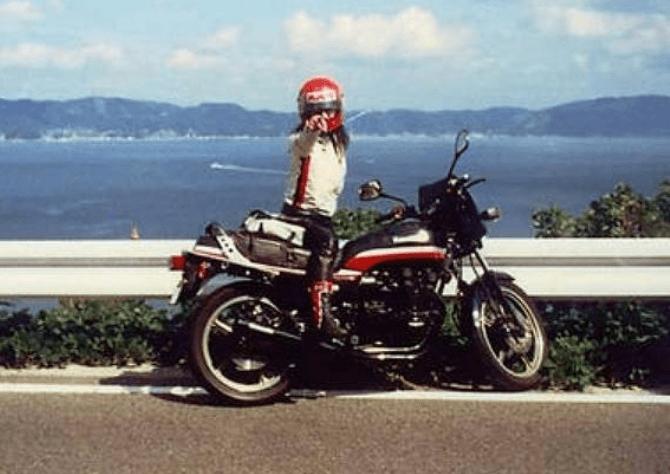 高市早苗、バイク