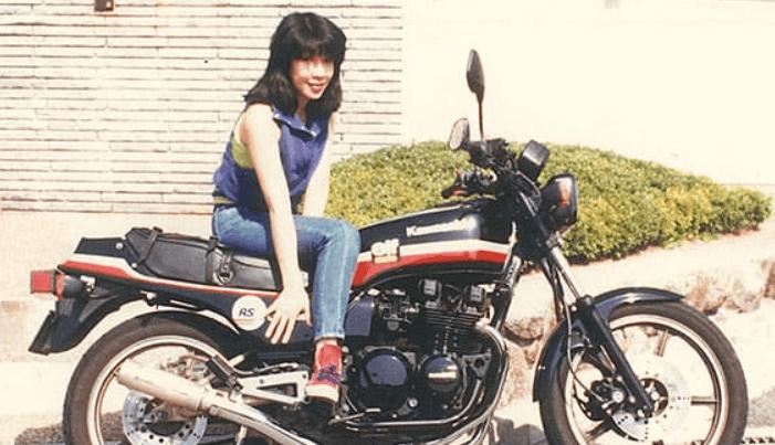 高市早苗、バイク、学生時代