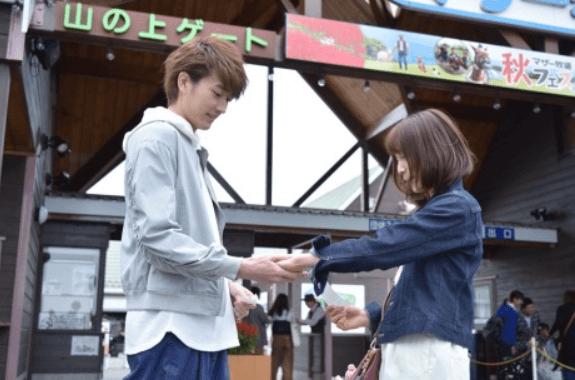 ドラマ「花にけだもの」の杉野遙亮と中村ゆりか