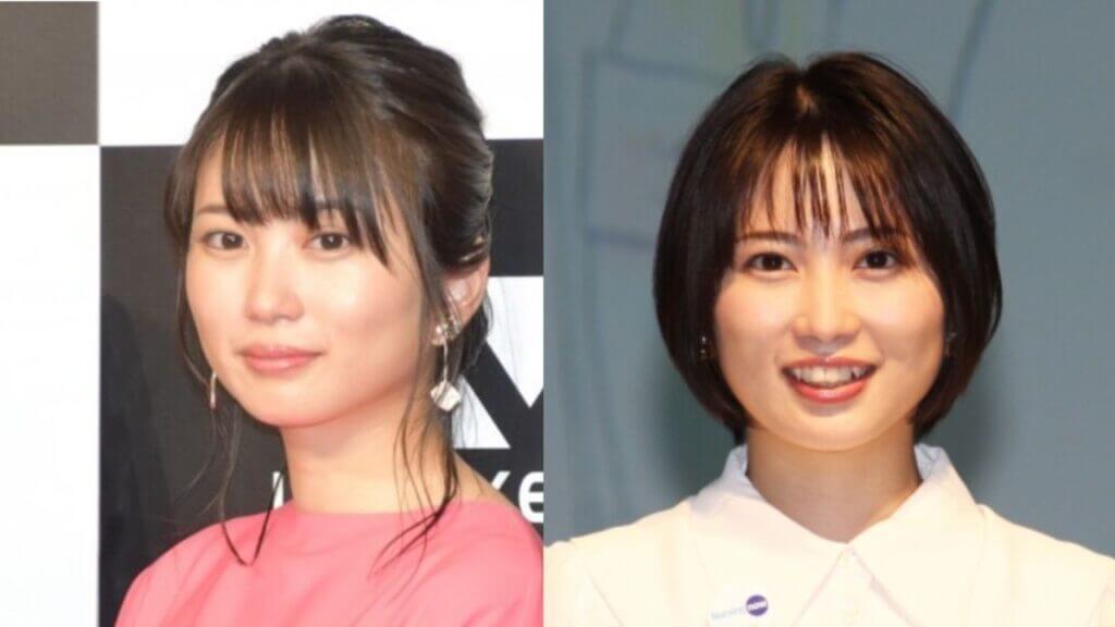 2018年、2021年の志田未来比較